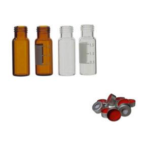 Flacons Vial pour chromatographie et accessoires